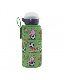 ALUMINIUM BOTTLE FOR KIDS 0.45L WITH PICHICHI NEOPRENE COVER