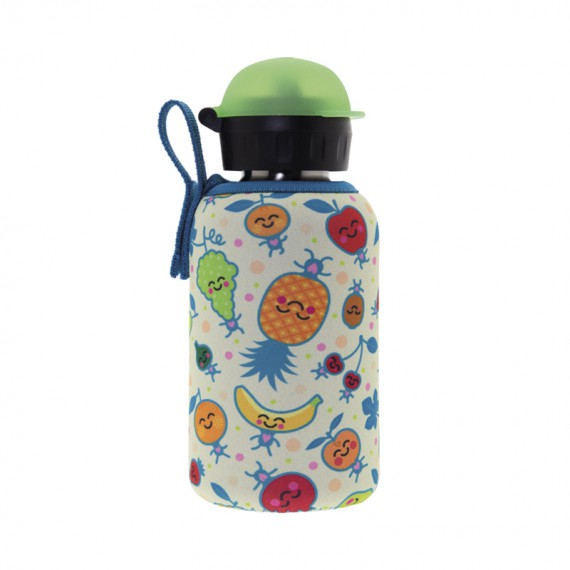 STAINLESS STEEL THERMO BOTTLE 0.35L HIT CAP