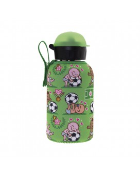 STAINLESS STEEL THERMO BOTTLE 0.35L HIT CAP WITH PICHICHI NEOPRENE COVER