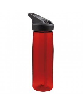 RED TRITAN BOTTLE 0,75L JANNU (WIDE MOUTH)