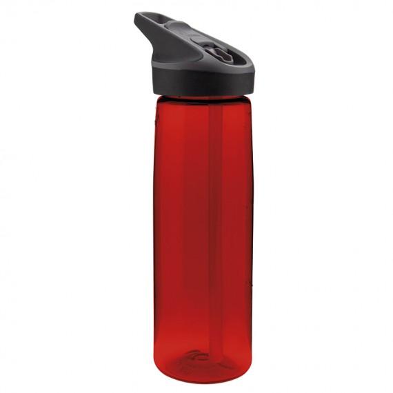 RED TRITAN BOTTLE 0,75L JANNU (WIDE MOUTH)