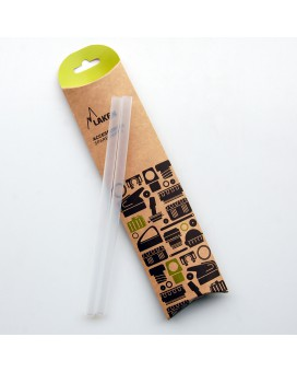 PP straw for Tritan bottles 0,75 L. - 215mm (2 pcs.)