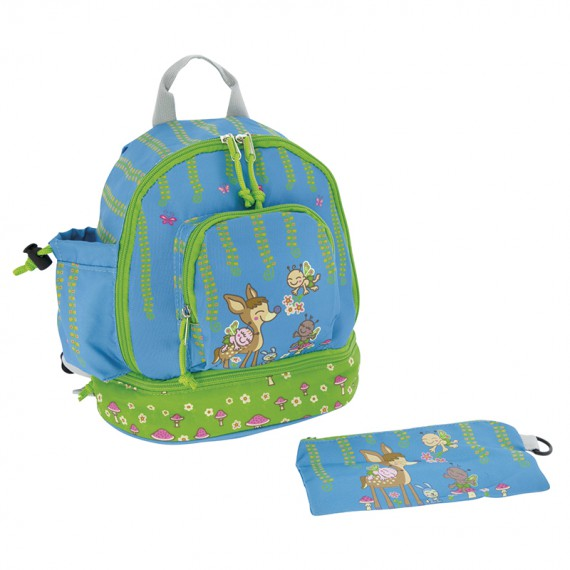BAMBINOS BACKPACK WITH LOWER INSULATED AREA