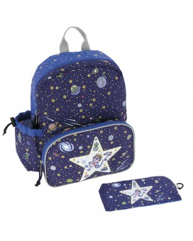 SPACE ODDITY BACKPACK WITH INSULATED FRONT POCKET