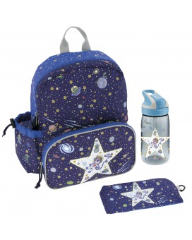 SPACE ODDITY SET: LARGE BACKPACK AND TRITAN SUMMIT BOTTLE