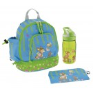 SMALL BACKPACK AND TRITAN SUMMIT BOTTLE BAMBINOS SET