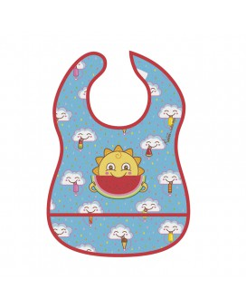 FRESKITO WATERPROOF BIB WITH FOLD OUT POCKET