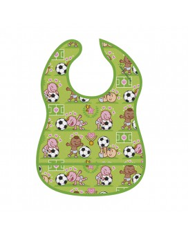 PICHICHI WATERPROOF BIB WITH FOLD OUT POCKET