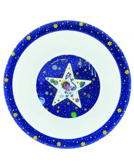 SPACE ODDITY MELAMINE BOWL
