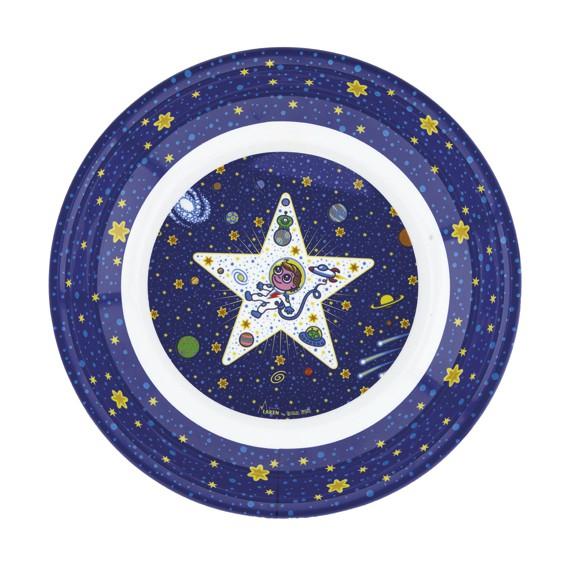 PLATO DE MELAMINA SPACE ODDITY