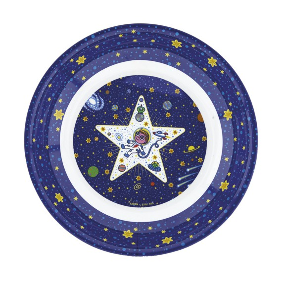 SPACE ODDITY MELAMINE BIG PLATE