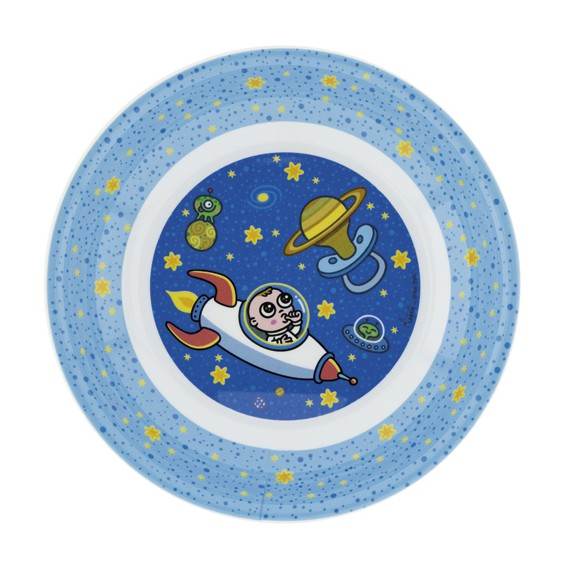 ASTRO BABY MELAMINE BIG PLATE