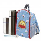 FRESKITO INSULATED BACKPACK, 0.5L THERMO LIQUIDS FLASK, 0.5L THERMO FOOD FLASK AND SPOON SET