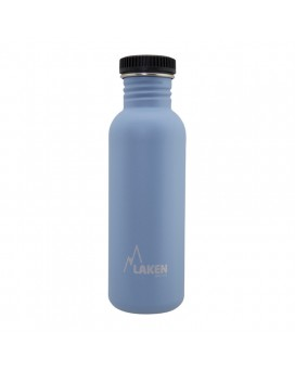 BLUE BASIC STEEL BOTTLE 0.75L BLACK CAP