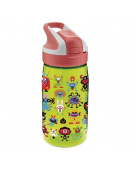PEKEMONSTERS TRITAN 0,45L BOTTLE WITH SUMMIT CAP