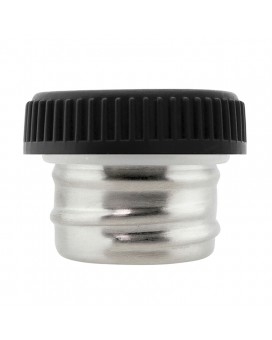 BASIC STEEL STAINLESS STEEL & PLASTIC CAP