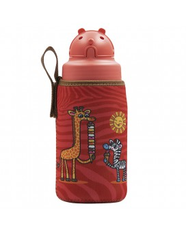 TRITAN BOTTLE 0.45L WITH OBY CAP AND CHUPI NEOPRENE COVER