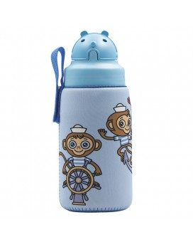 TRITAN BOTTLE 0.45L WITH OBY CAP AND MIKONAUTICOS NEOPRENE COVER