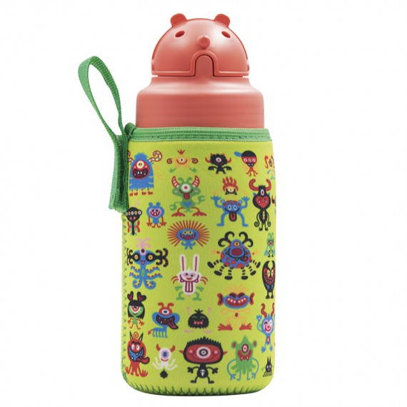 TRITAN BOTTLE 0,45L - PEKEMONSTERS WITH OBY CAP
