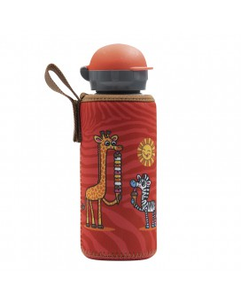 ALUMINIUM BOTTLE FOR KIDS 0.45L WITH CHUPI NEOPRENE COVER