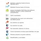 BOTELLA TÉRMICA SUMMIT (BOCA ANCHA) AMARILLA DE ACERO INOXIDABLE 18/8 DE 0,5 L