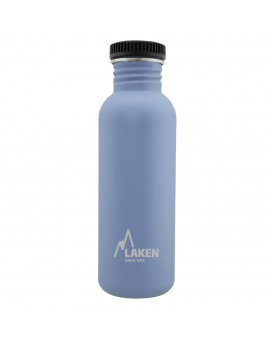 STAINLESS STEEL BASIC STEEL BOTTLE 0.75L BLACK CAP