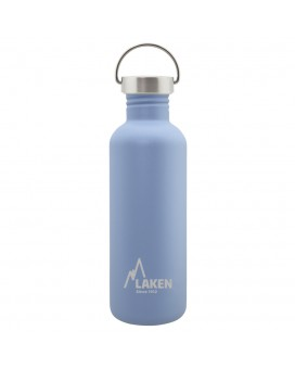 BASIC STEEL BOTTLE 1L STAINLESS STEEL CAP