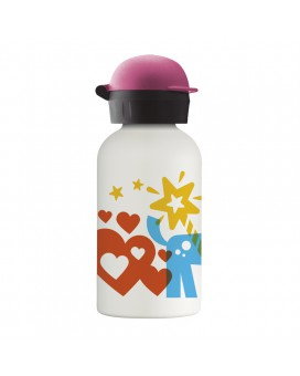 PRINCESI STAINLESS STEEL THERMO BOTTLE FOR KIDS 0,35L WITH HIT CAP
