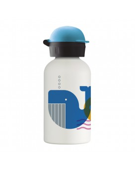 SUBMARIN STAINLESS STEEL THERMO BOTTLE FOR KIDS 0,35L WITH HIT CAP