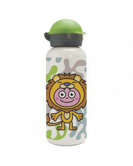 DISFRACES ALUMINUM BOTTLE FOR KIDS 0.45L HIT CAP