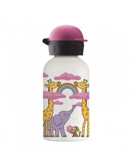 SWEET CLOUDS STAINLESS STEEL THERMO BOTTLE 0.35L HIT CAP