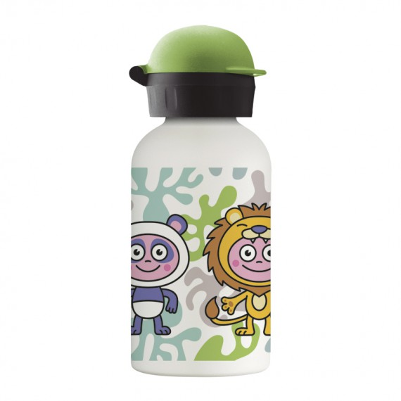 DISFRACES STAINLESS STEEL THERMO BOTTLE 0.35L HIT CAP
