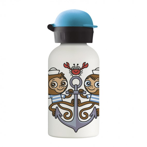 MIKONAUTICOS STAINLESS STEEL THERMO BOTTLE 0.35L HIT CAP
