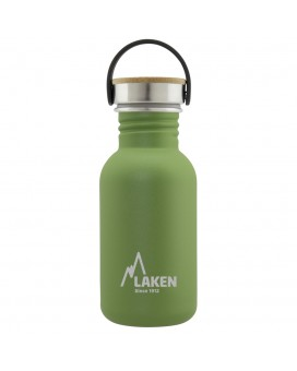 STAINLESS STEEL BOTTLE 0.35L, 0.50L, 0.75L, 1L BAMBOO CAP