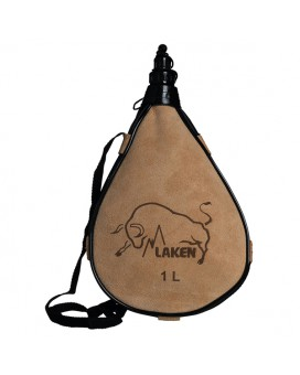 LEATHER CANTEEN STRAIGHT FORM 0.5L, 1L, 1.5L, 2L