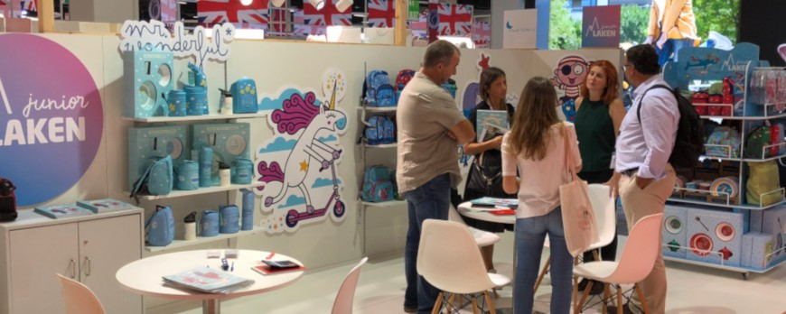 Laken will be present at the most important trade fair for baby and children's outfitting of the season